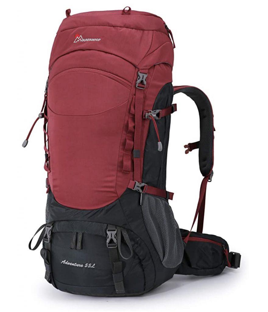 MOUNTAINTOP 80L/55L Hiking Internal Frame Backpack