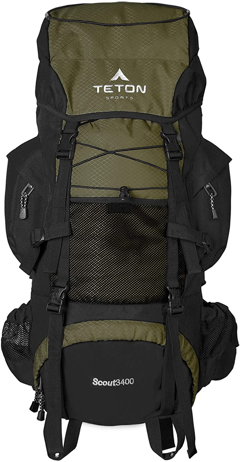Best Hiking Backpacks To Buy - TETON Sports Scout 3400